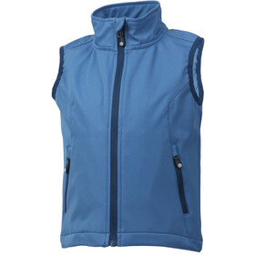 Color Kids Bajur Softshell Vest Kinder jeans blue